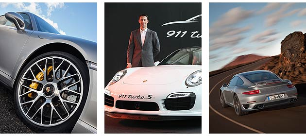 Arnt Bayer, CEO of Sime Darby Auto Performance and the new 911 Turbo S