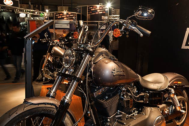 Harley Davidson wowed fans with a huge selection of bikes at EICMA in Milan