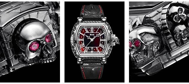 The Memento Mori, Carpe Noctem Timepiece
