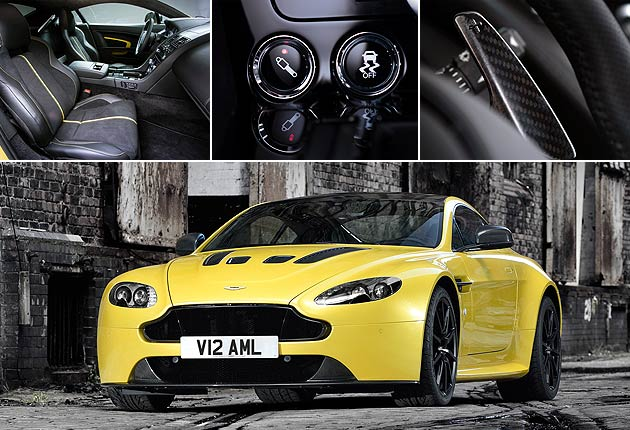 One million stiches in the Aston Martin Vanquish