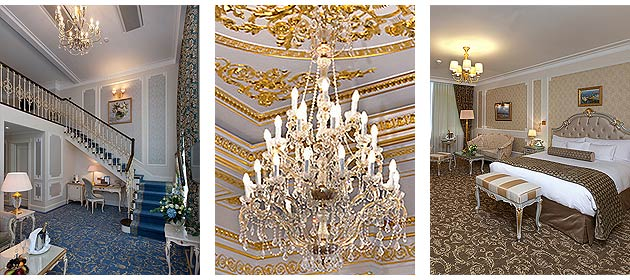 The decor implementation of the Hermitage Museum Official Hotel in St. Petersburg