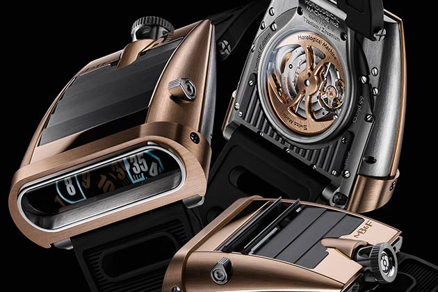 MB&F unveil a new version of the HM5 RT in red gold