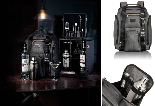 The Mixology Collection from Tumi, just in time for the Holiday Season