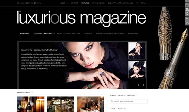 How important Social Media is to Luxurious Magazine