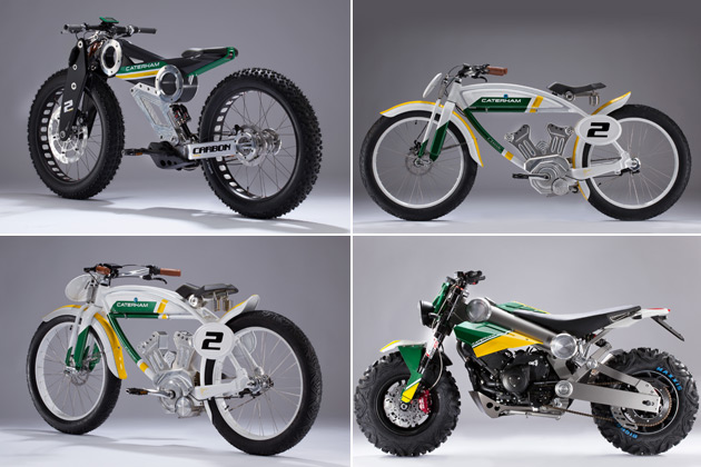 Caterham looks to impart racing DNA into two wheels