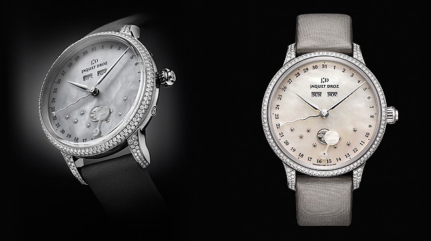 this new version of The Eclipse, whose redesigned elegance is addressed to men and women who love poetic watches.
