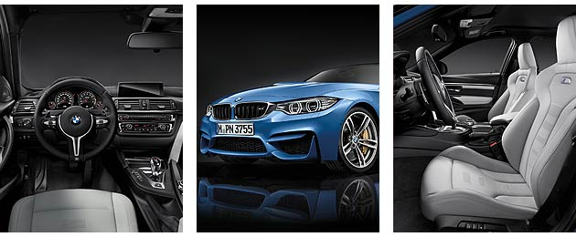Climbing into the BMW M3, drivers will be greeted by the interior architecture familiar from the BMW 3 Series and BMW 4 Series, complete with unimpeachable ergonomics and clear driver focus.
