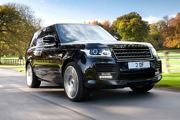 Overfinch Presents Luxury 2014 Range Rover Conversion