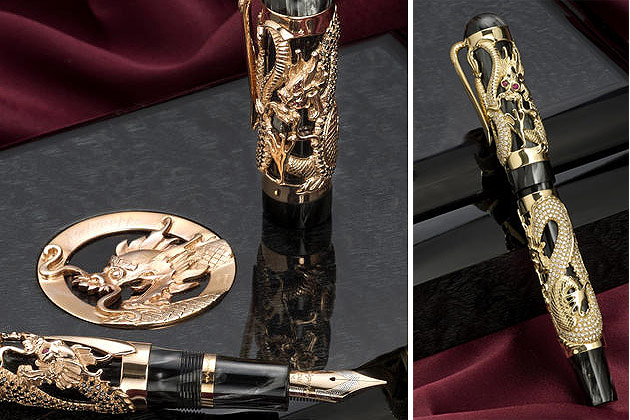 The rarest Montegrappa writing implements could be yours just in time for the holidays