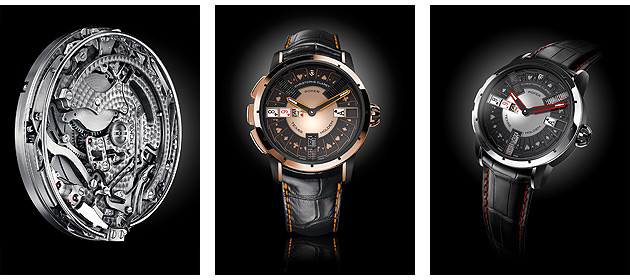 Poker is the very first timepiece that manages to replicate the game in an automaton watch