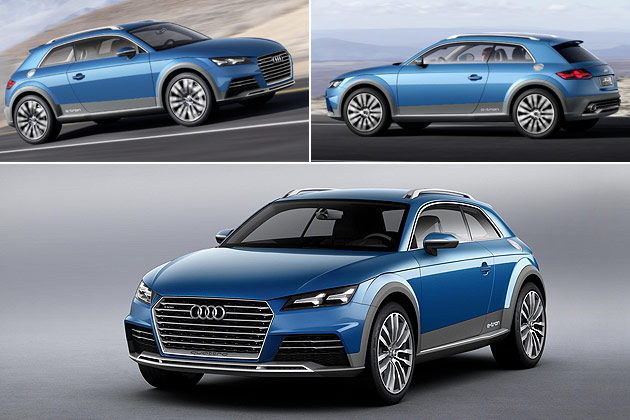 Audi Allroad Shooting Brake Crossover concept car