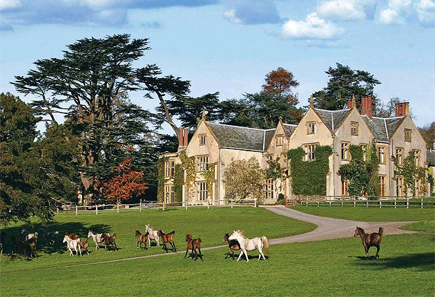 An Elizabethan Manor, A Classic Morgan and the English Countryside