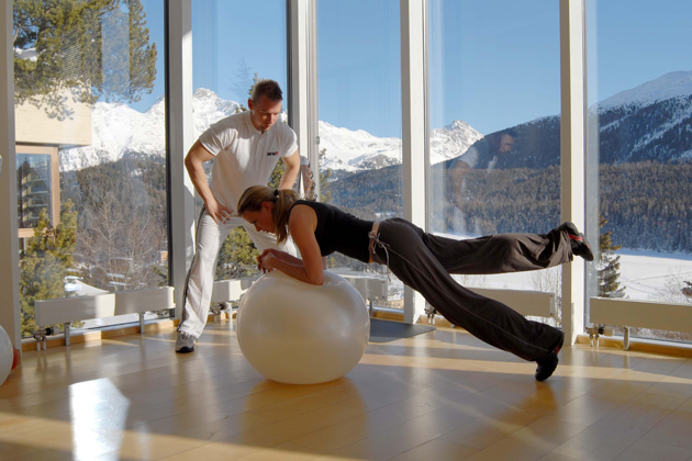 Reach New Fitness Heights At The Kulm Hotel St. Moritz