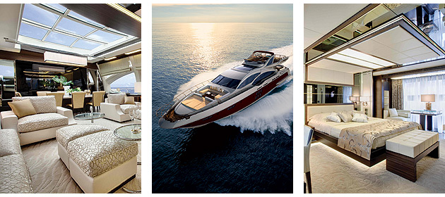 This third, 36m 120SL from the Azimut Grande Collection is as we would come to expect from the Italian luxury yacht manufacturer - 100% quality.