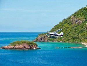 An added extra dose of luxury was added recently with the introduction of free private seaplane transfers, direct to the Qamea Resort's doorstep.
