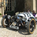 An Elizabethan Manor, A Classic Morgan and the English Countryside 5