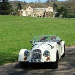 An Elizabethan Manor, A Classic Morgan and the English Countryside 8