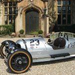 An Elizabethan Manor, A Classic Morgan and the English Countryside 9