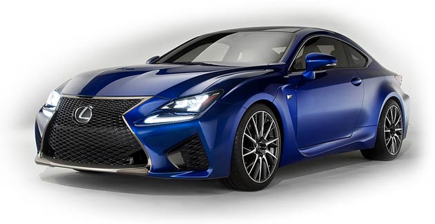 The new Lexus RC and RC F Coupes to debut in Geneva