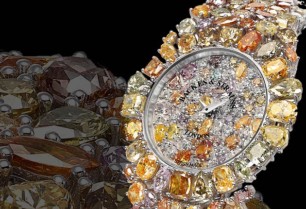 The latest creation from the world's oldest diamond merchants is the extraordinary 225 diamond, 38.69 carats Princess Royal Colours timepiece.