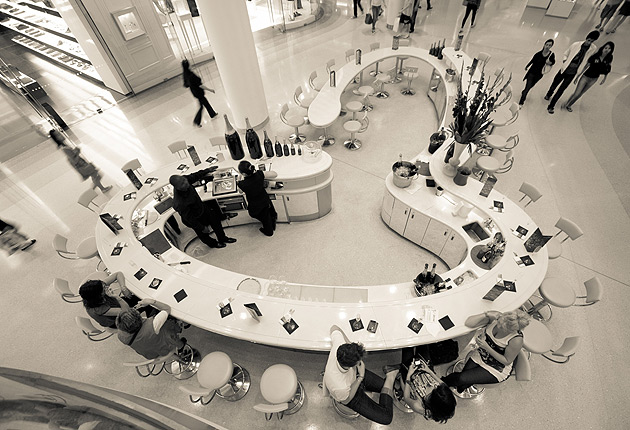 Champagne And Shopping At Westfield London