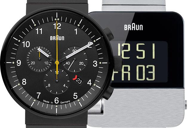 Simon Wittenberg Reviews Braun's Prestige Watches