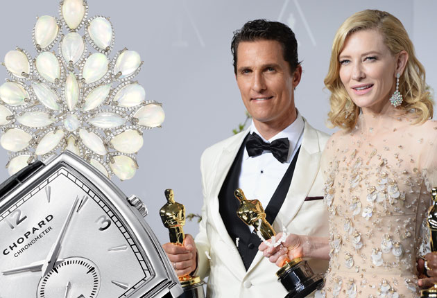 Chopard - Another of the big winners at the Academy Awards 2014