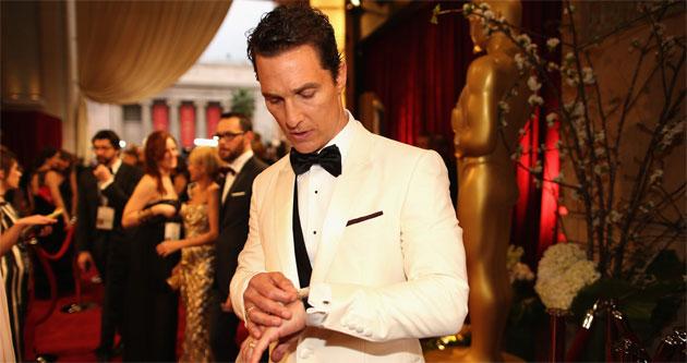 Matthew McConaughey selected Chopard's L.U.C XP Tonneau timepiece
