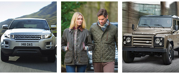 Land Rover and Barbour collaborate over clothing and apparel line