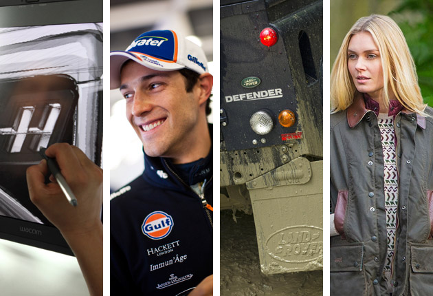 'Tis the season to collaborate! Hasselblad / Aston Martin Racing and Land Rover / Barbour
