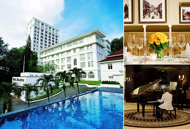 The elegance and glamour of the Majestic Hotel in Kuala Lumpur