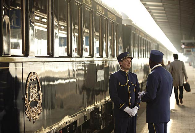 The Venice Simplon-Orient-Express heads to Brussels