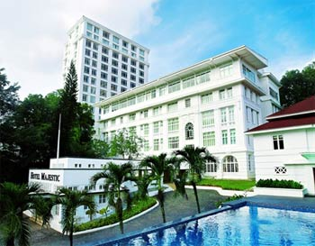 Ong Chin Huat experiences the elegance and glamour of the Majestic Hotel in Kuala Lumpur