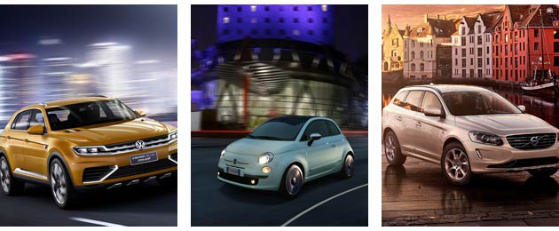 VW, Fiat and Volvo start 2014 strongly