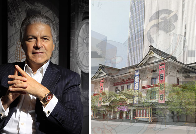Backes & Strauss supports Tokyo's Kabukiza theatre in Ginza