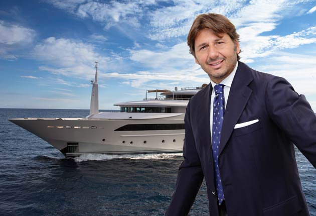 Sabi Phagura Interviews Lamberto Tacoli, President And CEO Of CRN Yachts