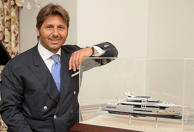Part Two of the Luxurious Magazine Interview With Lamberto Tacoli, President And CEO Of CRN Yachts