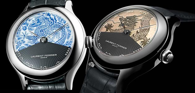 Laurent Ferrier Galet Secret Dragon Tourbillon Double Spiral