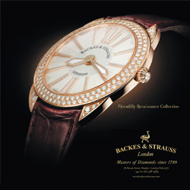 Backes & Strauss Piccadilly Renaissance Collection