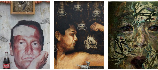The hotel's art exhibition features a total of 17 different artworks from 8 Malaysian artists directly from the Prudential Malaysian Eye book