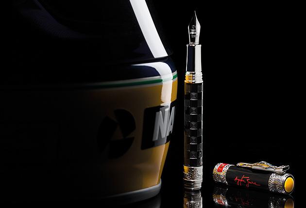 Montegrappa introduce the Ayrton Senna Icons pen collection