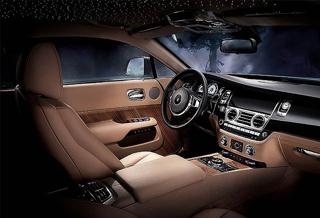 Luxurious Magazine Car of the Year - The Rolls-Royce Wraith gains more plaudits for stunning interior