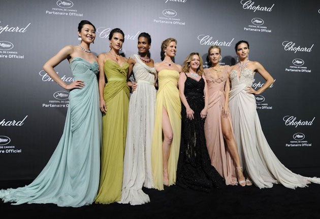 "The magic of ""Backstage Cinema"" pervades the Chopard party"