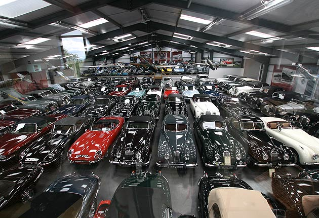 Fancy owning Britain's largest, privately owned, award winning collection of cars?