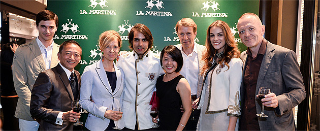 The La Martina store in Singapore was officially opened last week at Marina Bay Sands, making it the first flagship boutique in Singapore