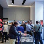 Photographer, Simone Zeffiro Attends the Official Opening of Leica Galerie Milan 9