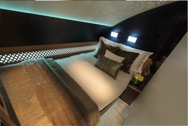 Etihad introduce a luxurious three-room cabin in the sky in the form of The Residence