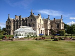 The Roxburghe Hotel is unique in that it only has 22 bedrooms in this spacious and spectacular looking property and as we mentioned previously it's easily accessible whether you are based in the North West of England like we were, Newcastle over to the East of England or Edinburgh in Scotland.