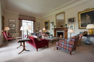 The interior perfectly complements the exterior and provides the impression that you are in a beautifully appointed classic country home.
