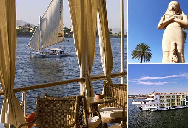 Sabi Phagura sails along the Nile sampling the incredible History and Culture in Luxor and Aswan